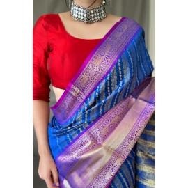 Semi Kanchipuram Silk Pattu Saree